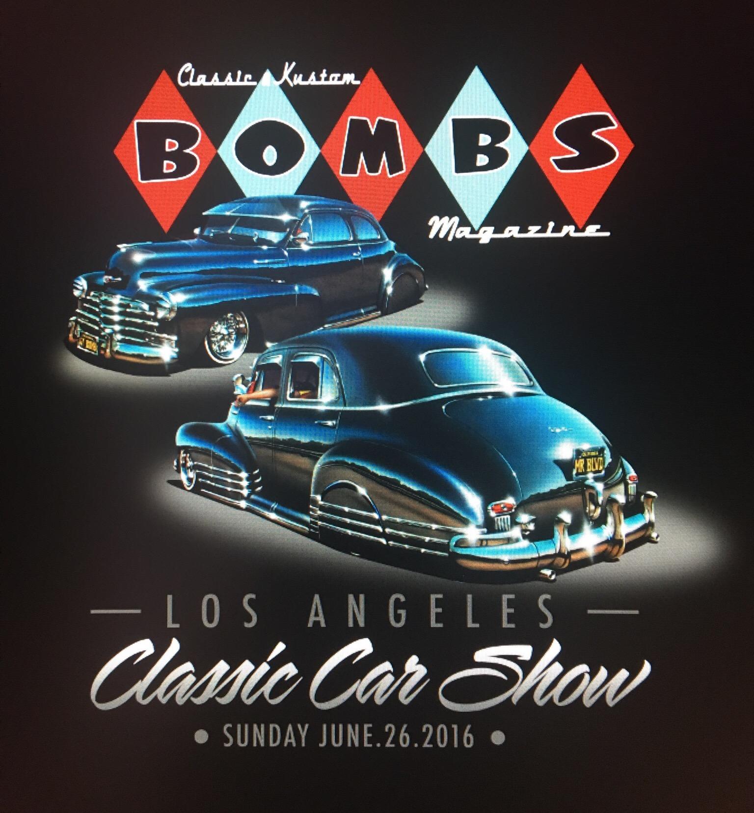 Bombs Magazine - Classic & Kustom Bombs Magazine