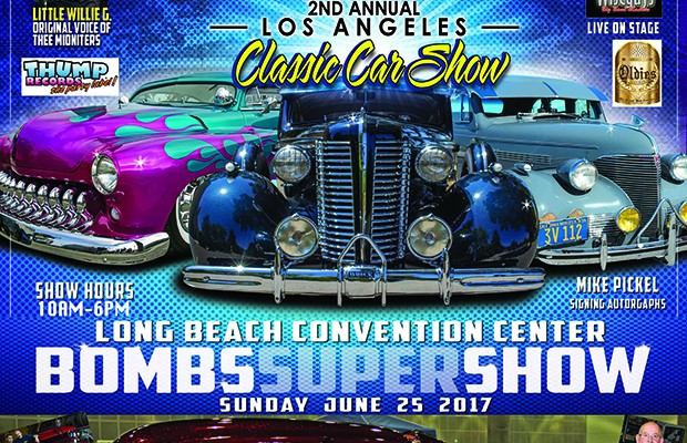 Boms Magazine Car Show flyer