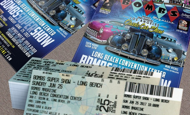 2017 LA Classic Car Show Flyers and Tickets