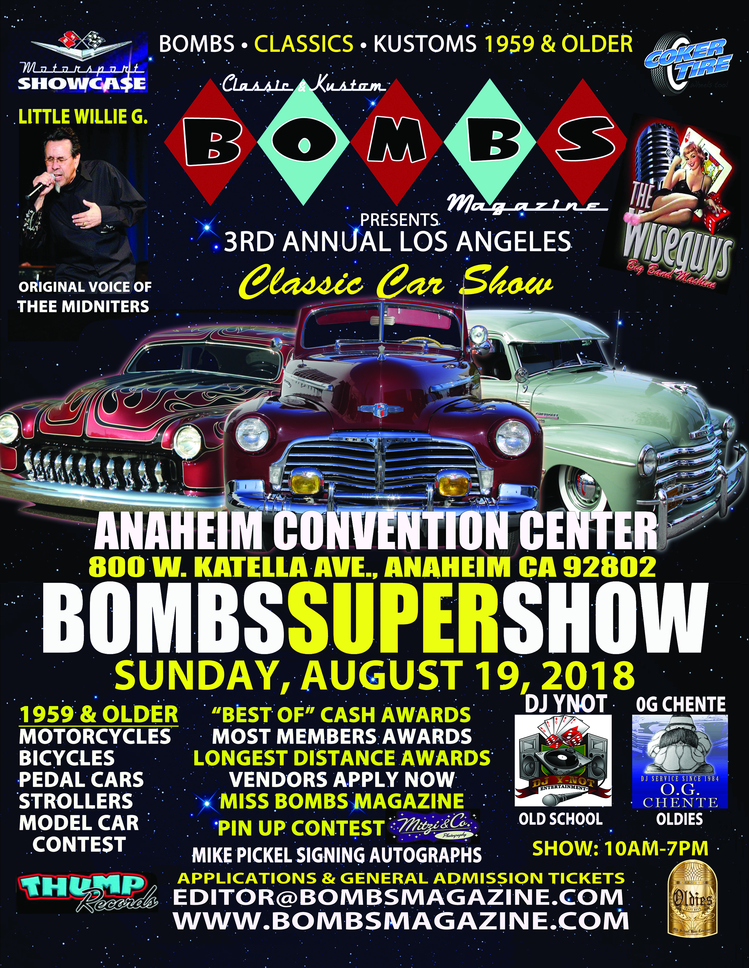 Bombs Super Show Bombs Magazine - Lowrider car show 2018