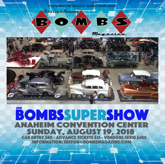 2018 Bombs Magazine Supershow
